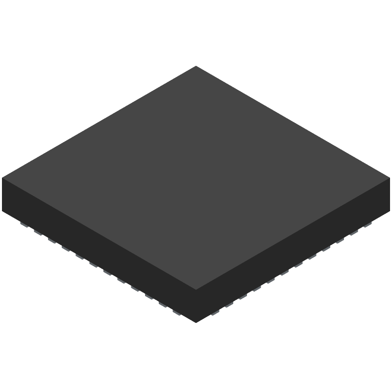Espressif Systems ESP32-PICO-D4 (Other) 3D model isometric projection.