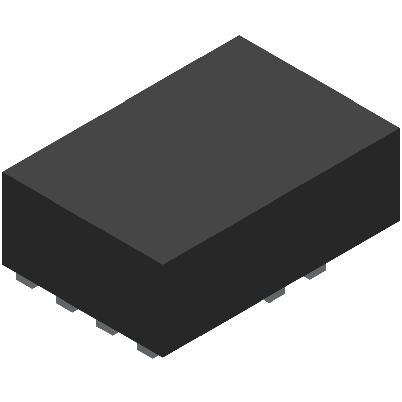 Monolithic Power Systems (MPS) MP8759GD-Z (Other) 3D model isometric projection.