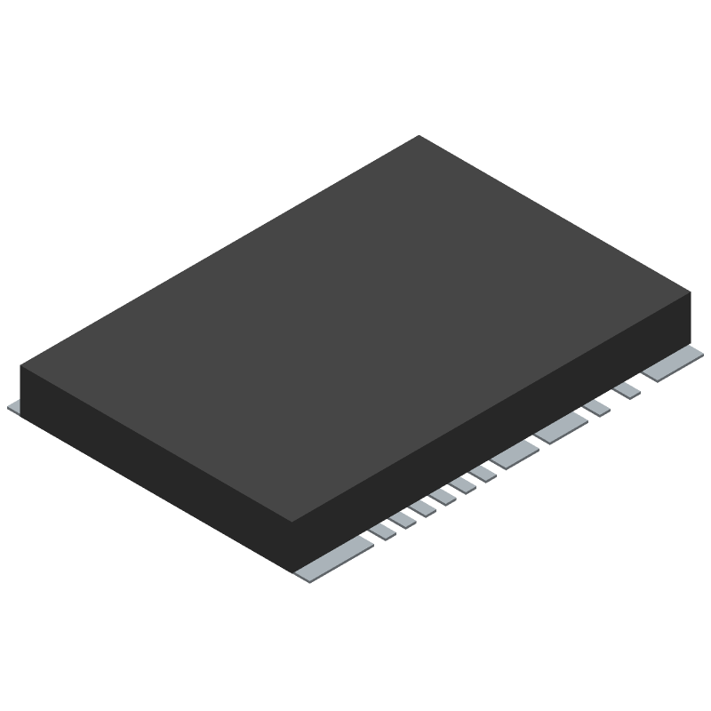 Molex 104239-1430 (Other) 3D model isometric projection.