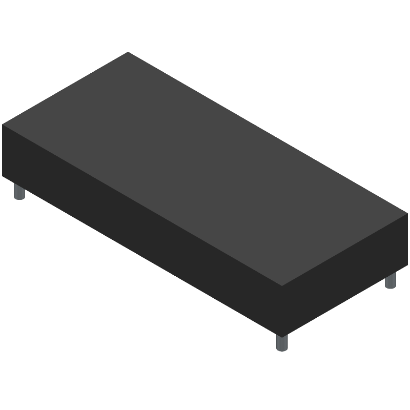 Lumex LCR-U01602DSF/AWH (Other) 3D model isometric projection.