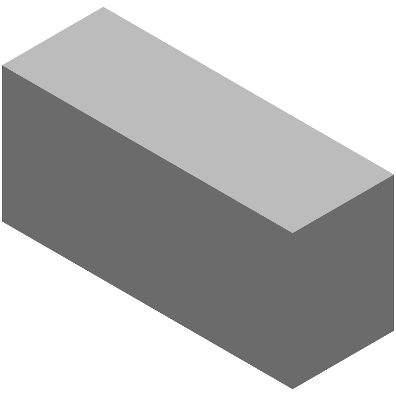LITTELFUSE 64600001223 (Other) 3D model isometric projection.